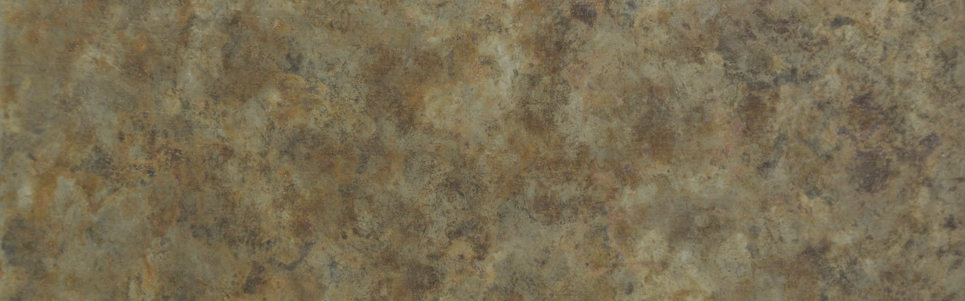 """12"""" SAMPLE OF THE BAROQUE ZINC™ SURFACE."""
