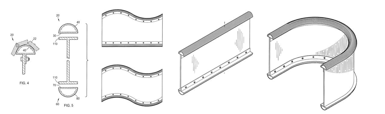 Patent images for the ZEPPS hardware assemblies.