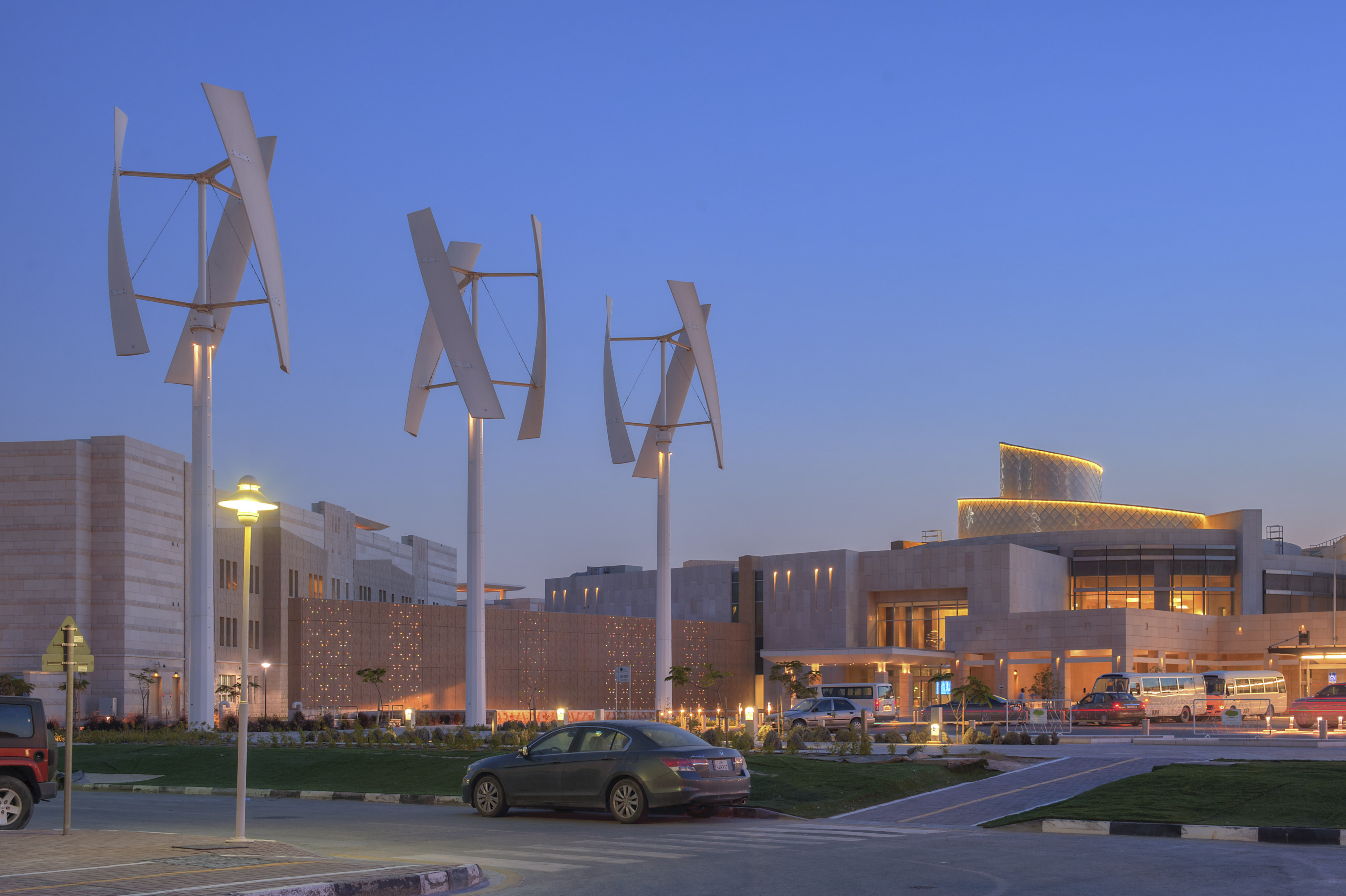 Qatar Foundation Education City Student Housing Complex