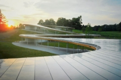 Roof detail for Grace Farms, designed by SANAA.