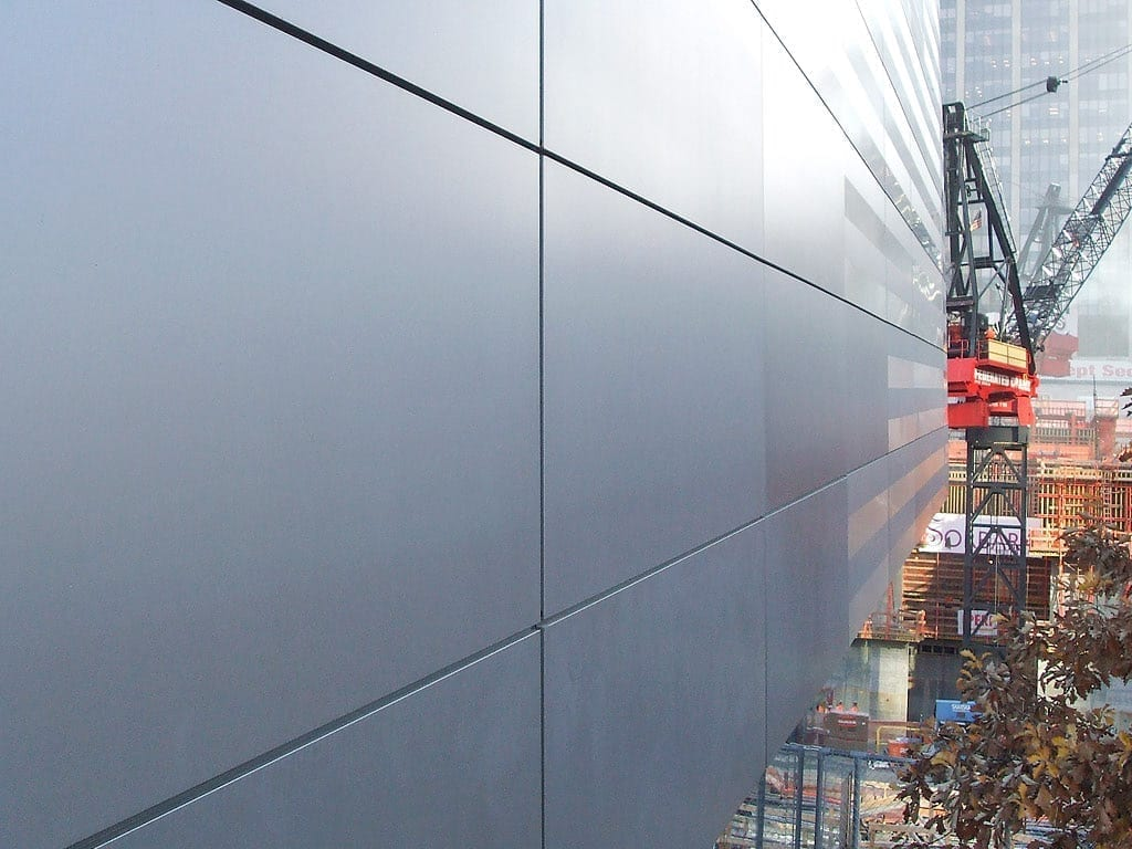 National September 11 Museum during construction
