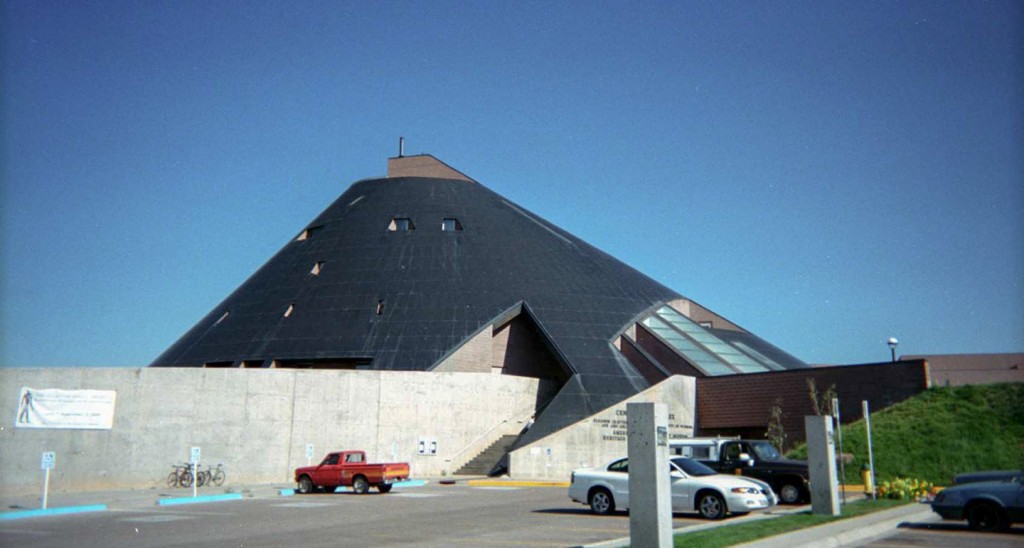 American Heritage Center at Laramie, designed by Antoine Predock Architect.