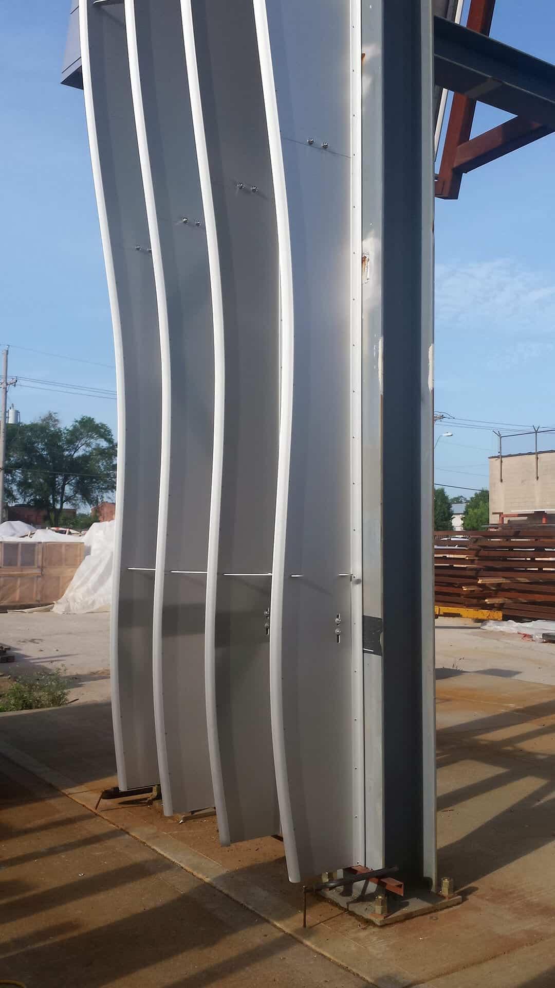 Mockup for Cedar Kettner Parking Structure.