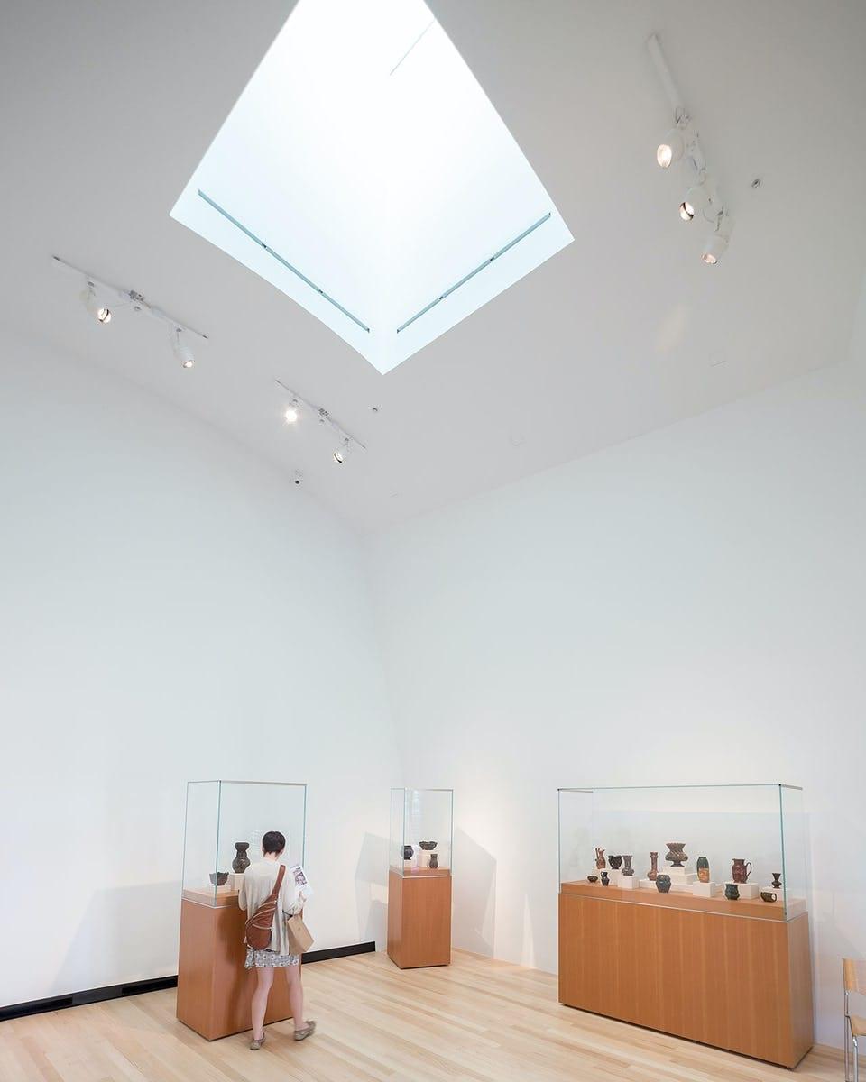 OHR-O'KEEFE MUSEUM WITH CUSTOM SKYLIGHTS.