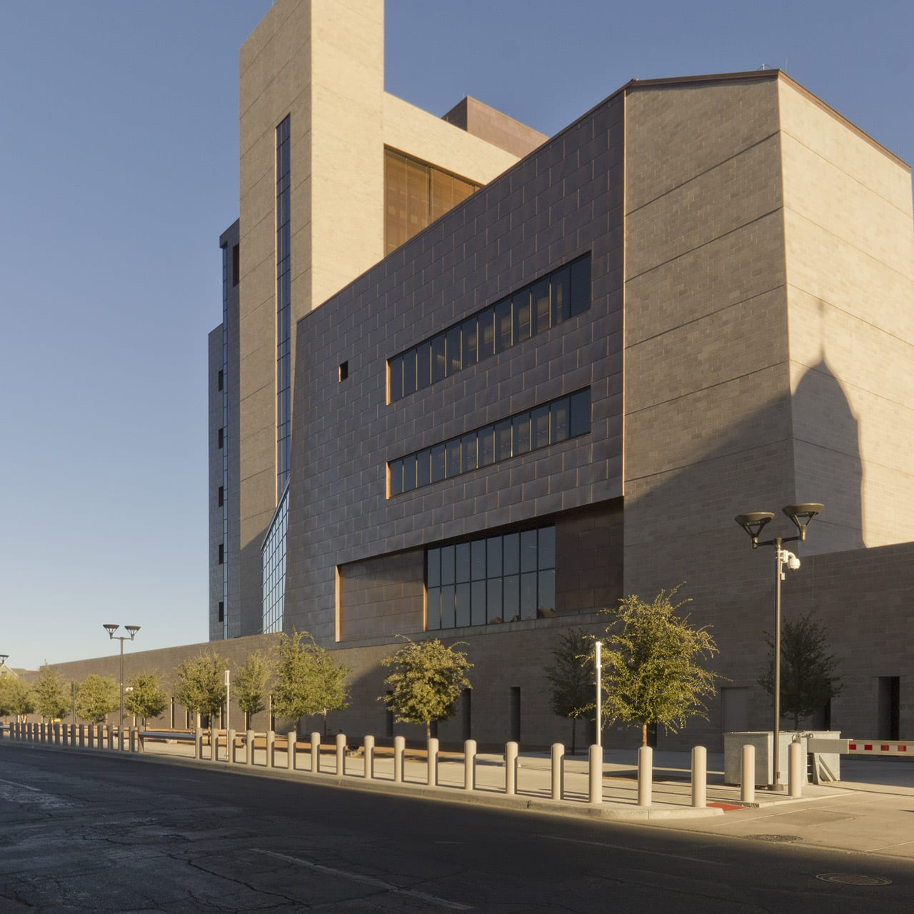 El Paso Courthouse viewed from the northwest.