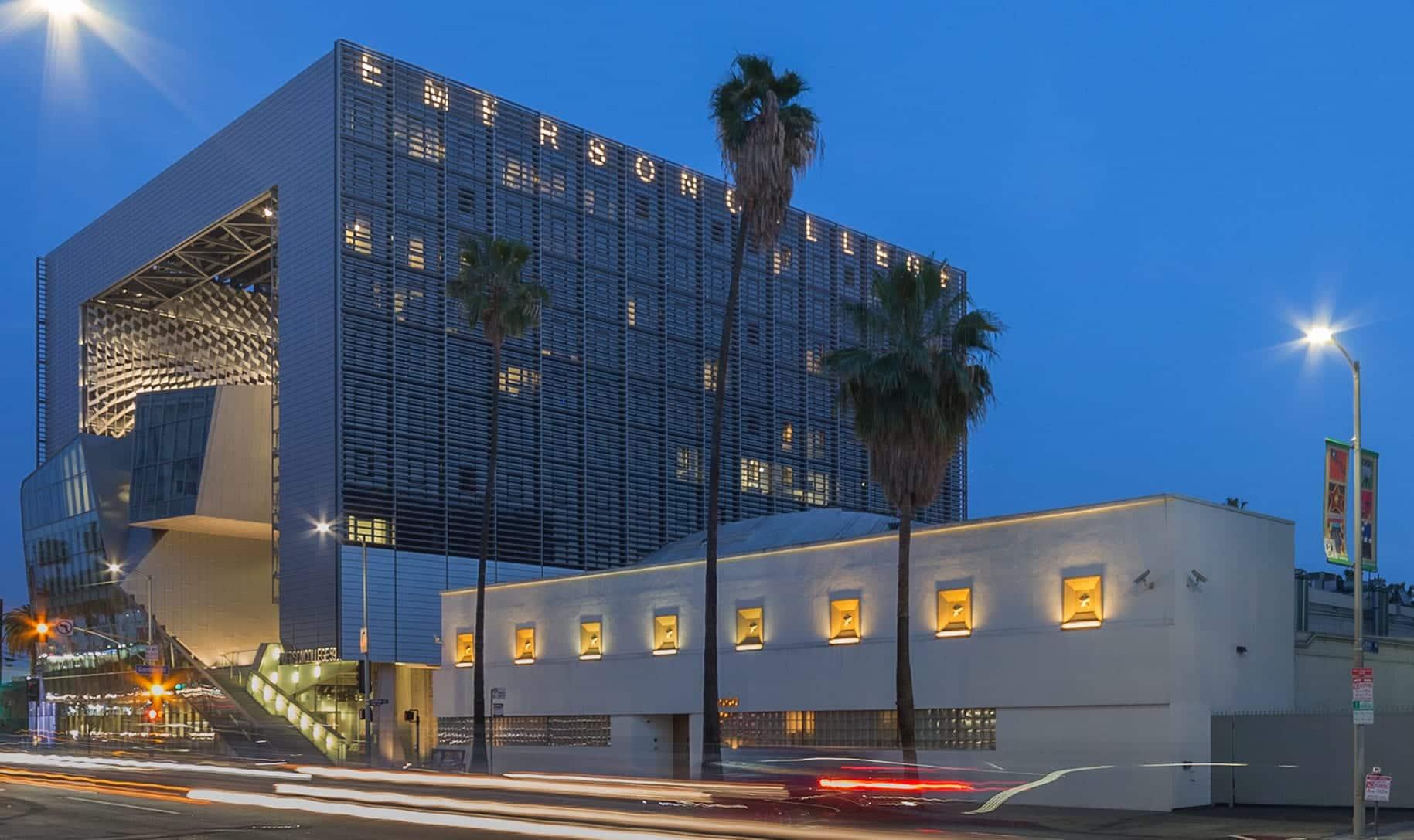 Emerson College Los Angeles.