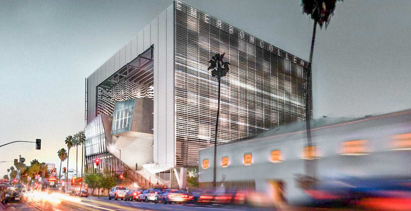 Rendering of the Morphosis-designed Emerson LA Campus.