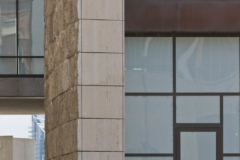 Detail of the National Underground Railroad Freedom Center.