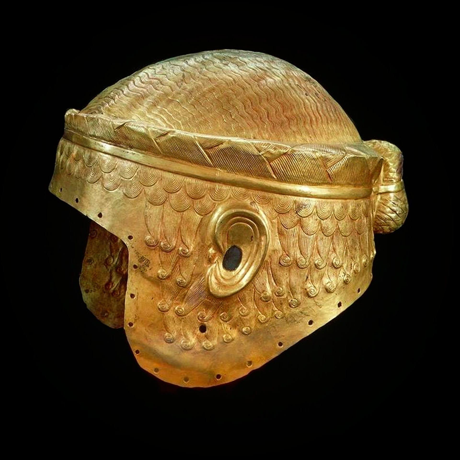 Gold Helmet, Sumeria; 2600 BCE.