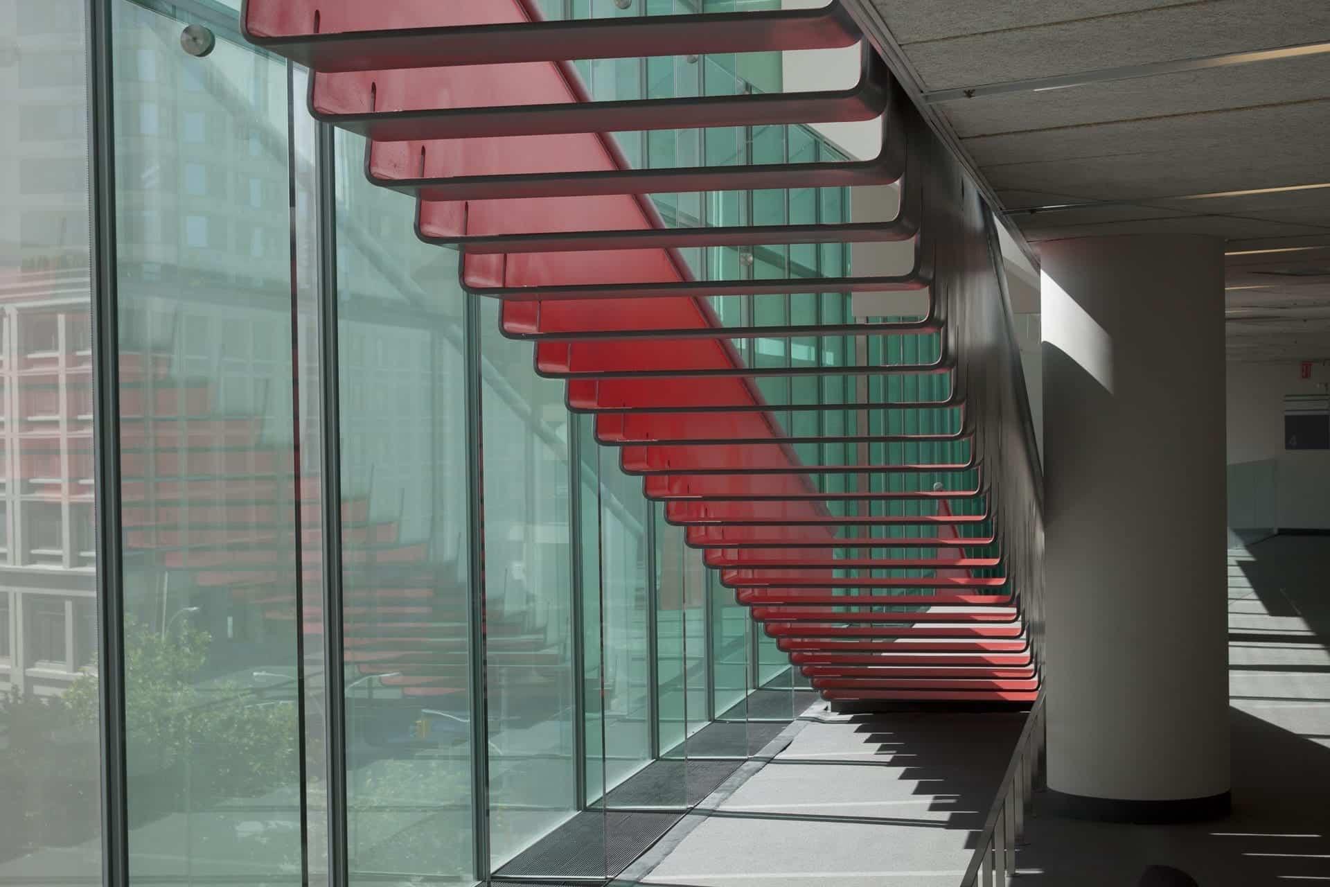Juilliard Staircase designed by Diller Scofidio + Renfro.