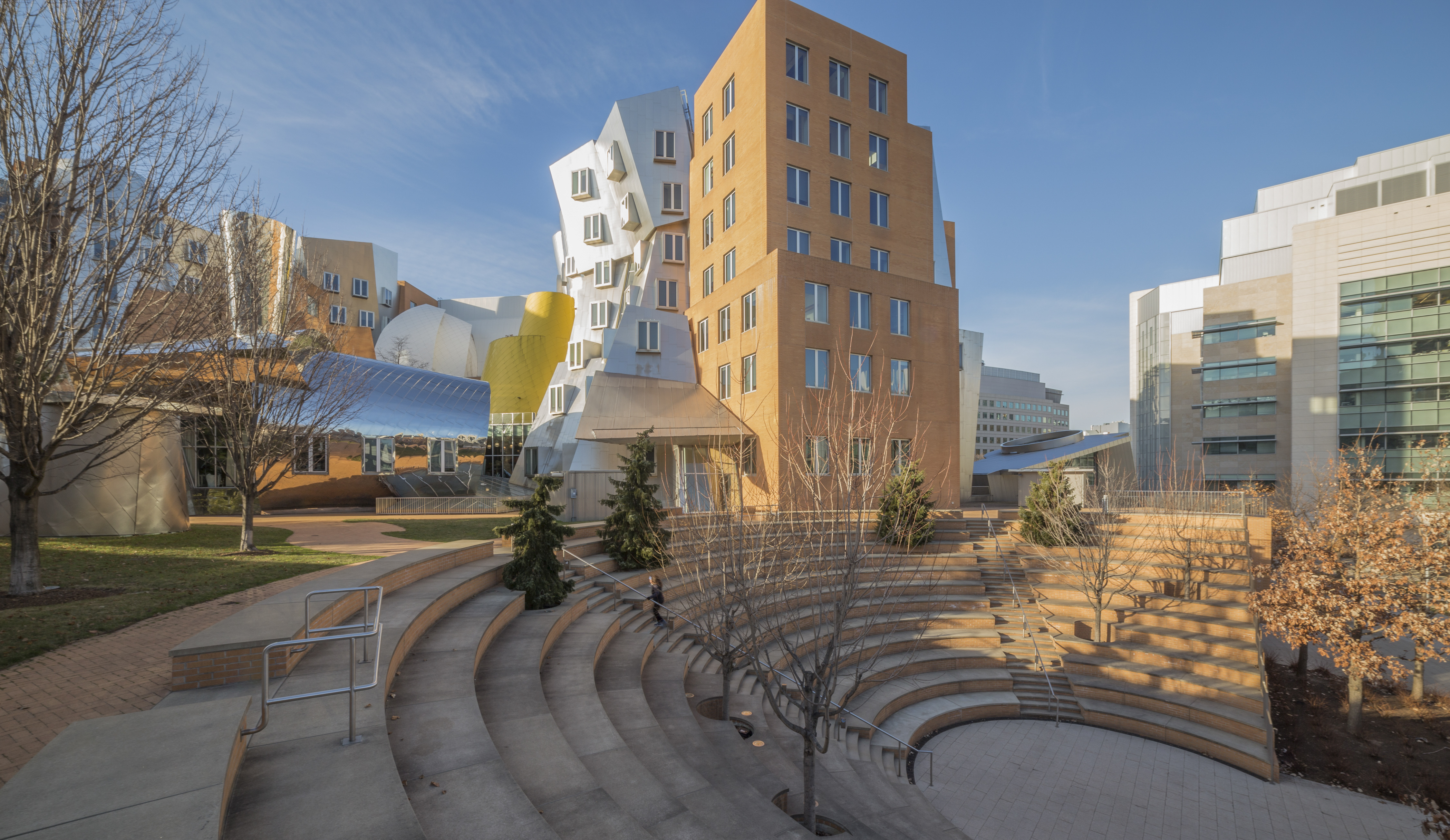 Stata Center at MIT in Cambridge, Massachusetts