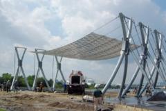 Noisette during construction