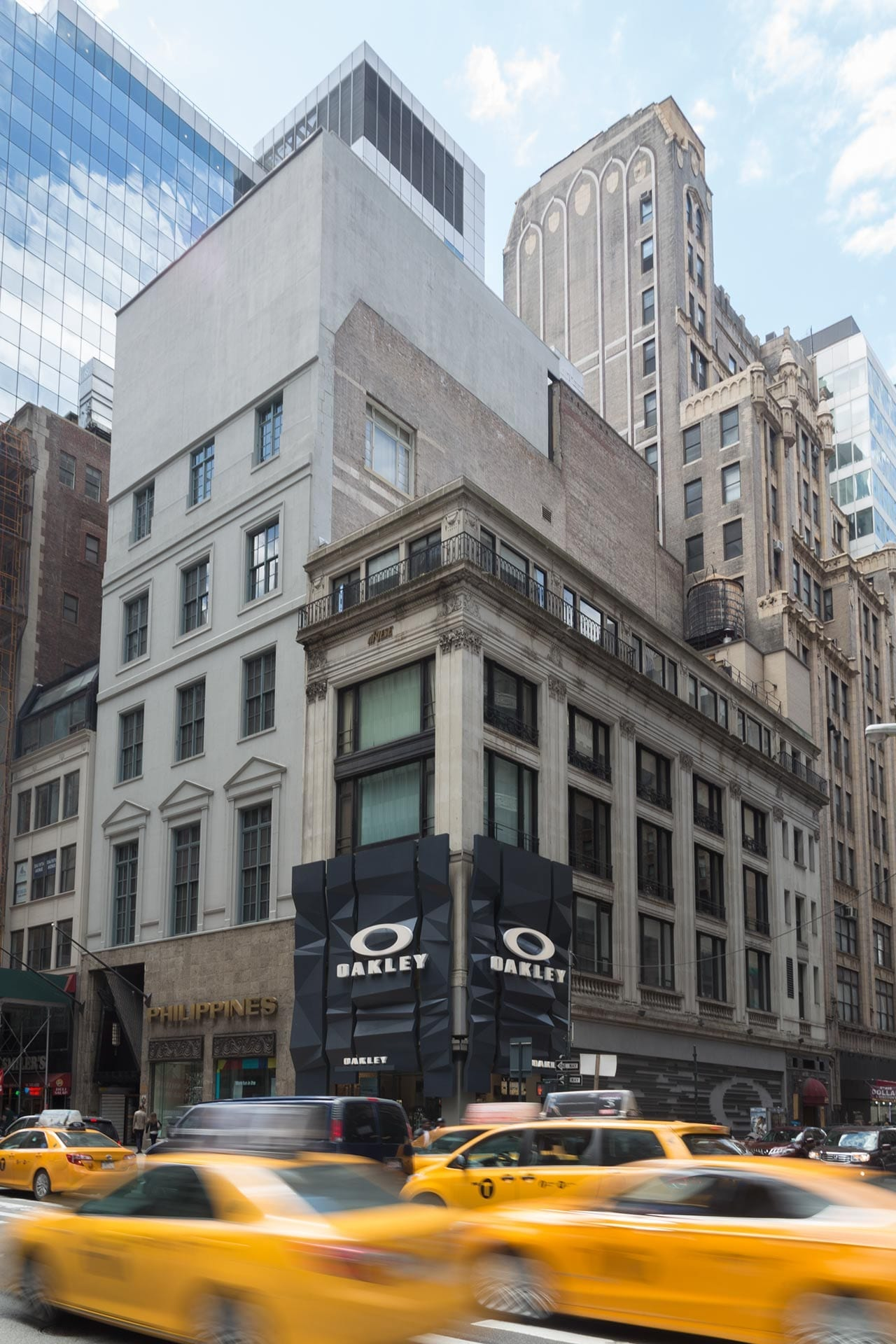 Oakley Fifth Avenue in New York City.