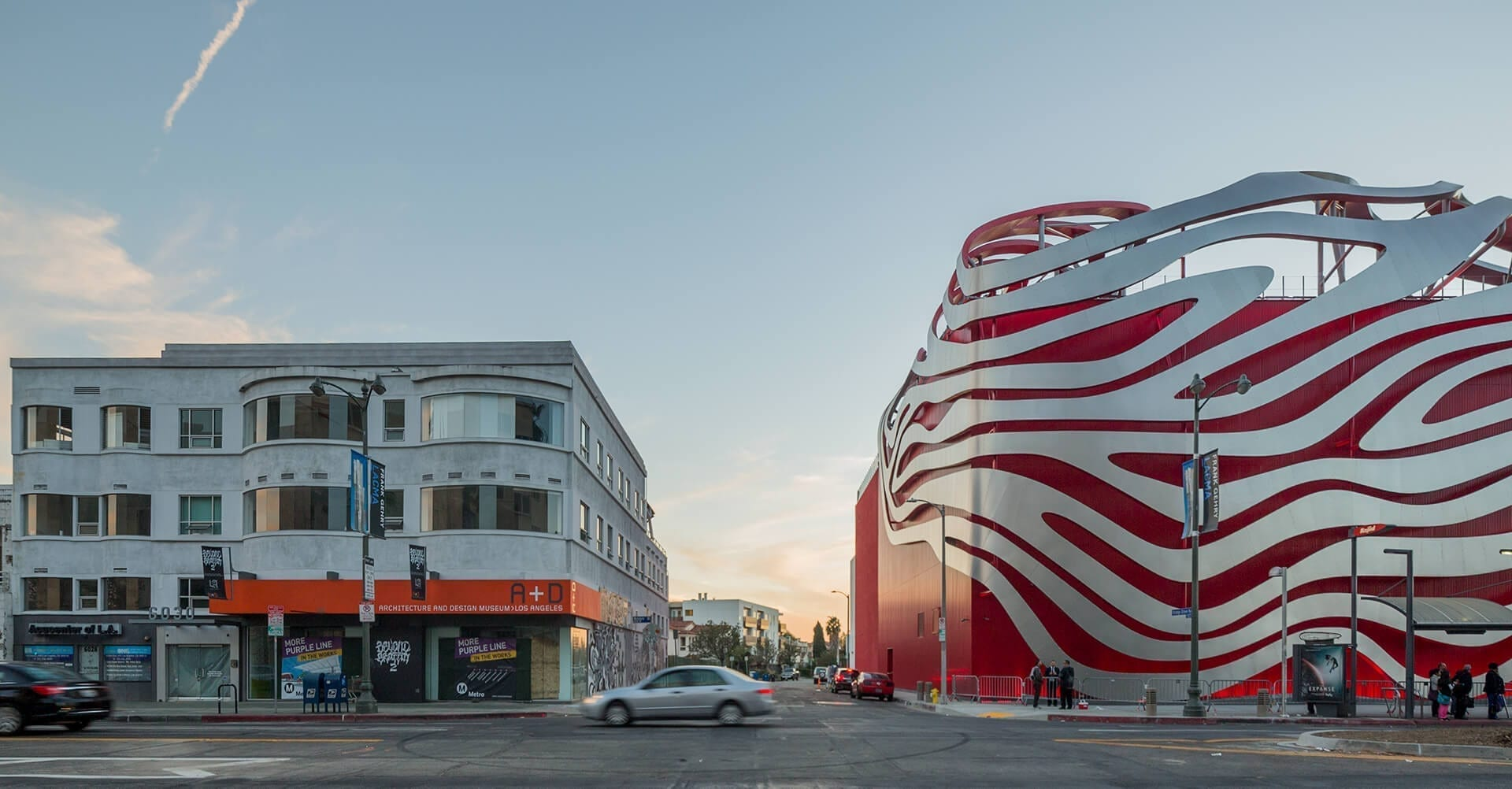 Petersen Automotive Museum in Los Angeles, California.