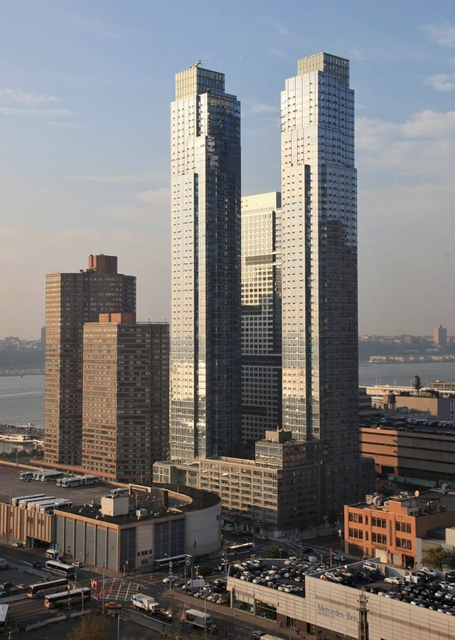 Silver Towers in New York City
