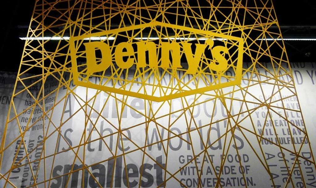 Denny's Flagship Diner in Las Vegas on Fremont Street.