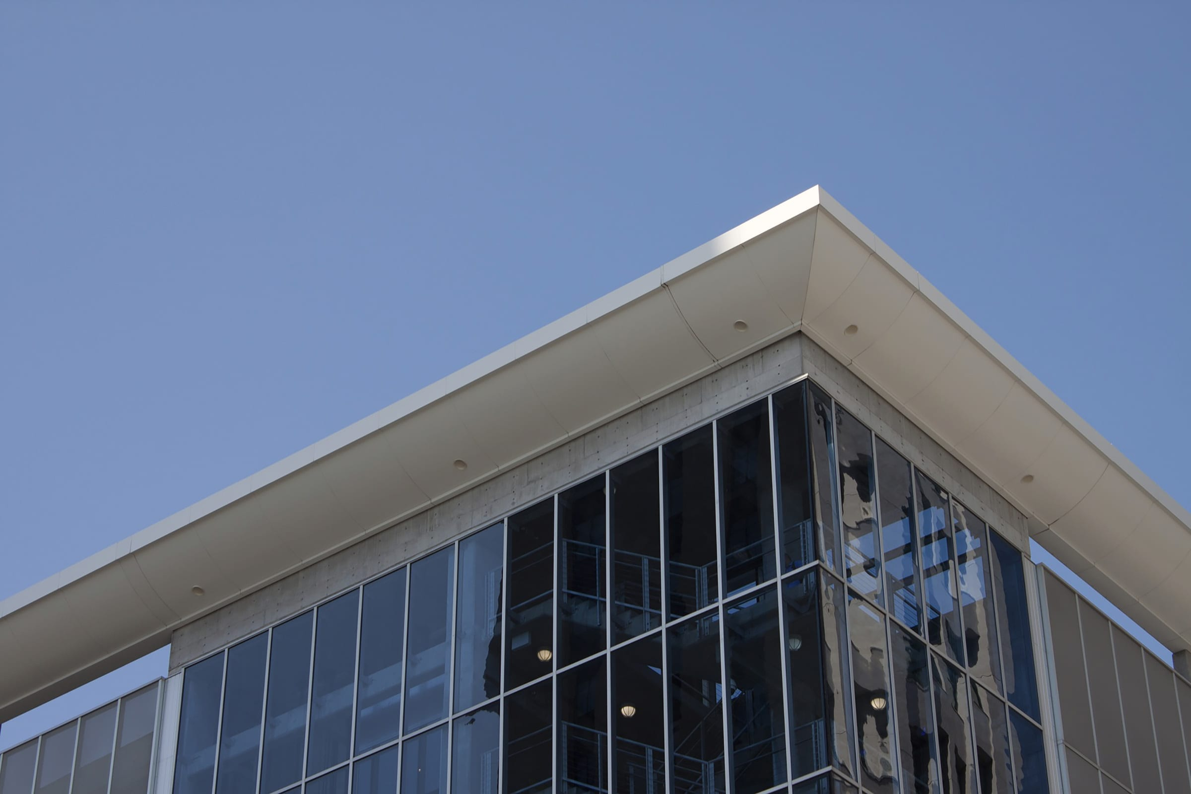Rooftop awning system in Kansas City.