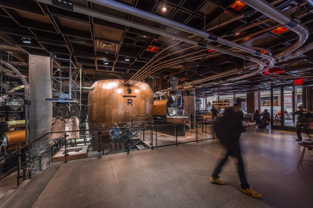 Starbucks Reserve New York Roastery