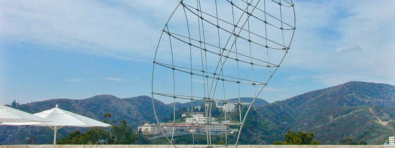 Martin Puryear, Los Angeles, California; Getty Museum of Art Stainless steel, bronze; 45' x 30' x 12' 1999.