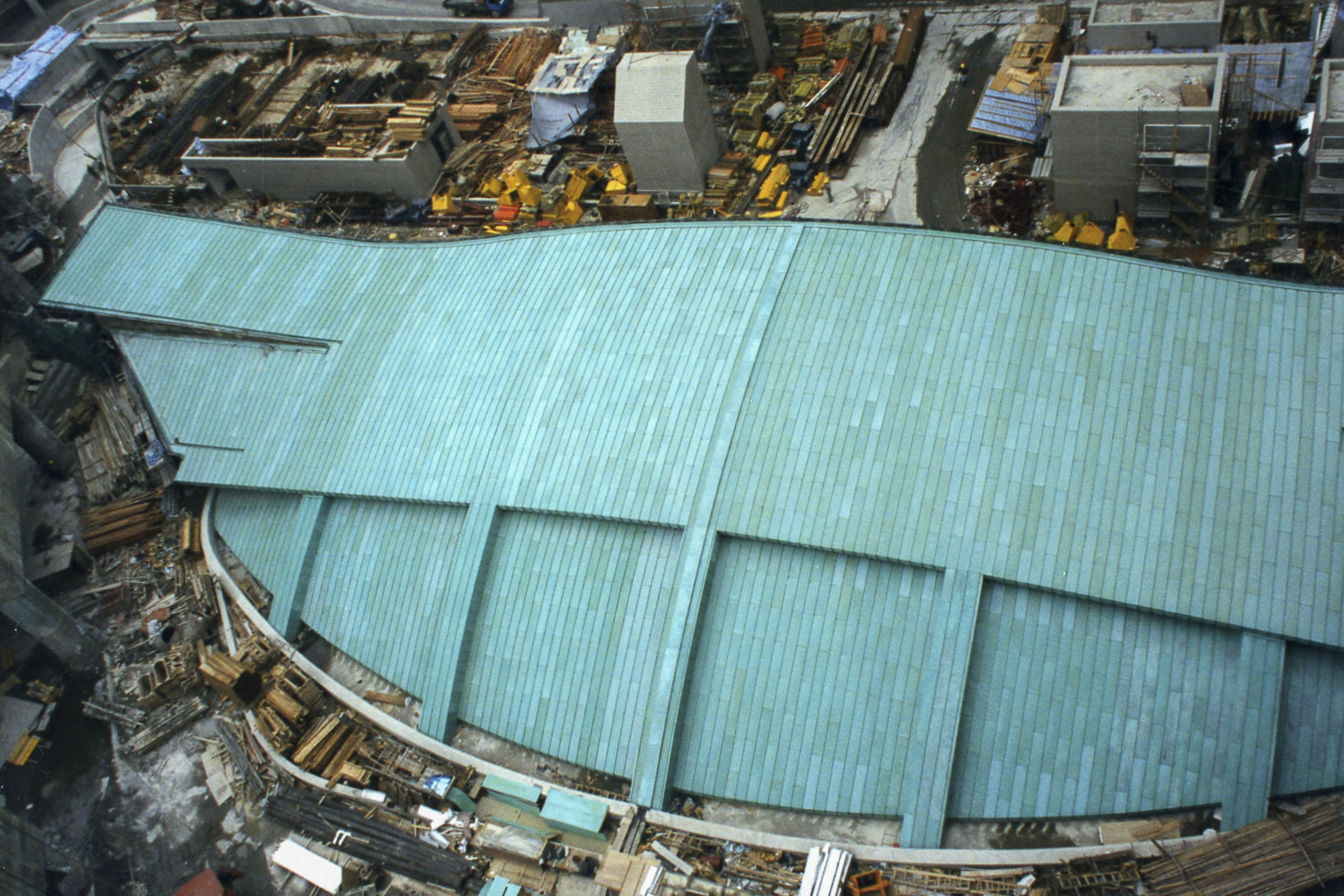 Tsing Yi Terminal Roof in Hong Kong.