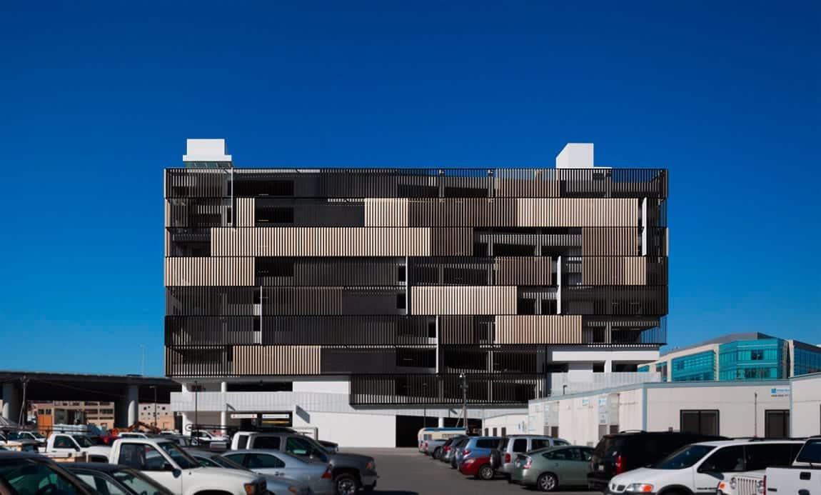 USCF Mission Bay Medical Garage.