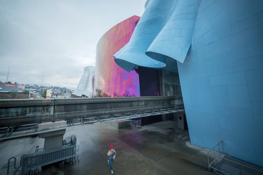 EMP Museum (Experience Music Project) designed by Frank Gehry Partners